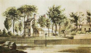 The Cargle estate N.E. corner of 60th St. & 10th Av. [chromolithograph from Valentine's Manual of the Corporation of the City of New York]