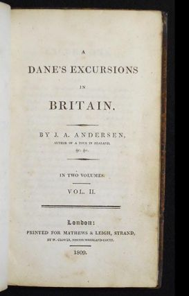 A Dane's Excursions in Britain by J.A. Andersen