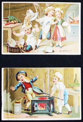 Franco American Food Co. trade cards (2
