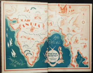 An Indian Journey by Waldemar Bonsels; illustrated by Harry Brown