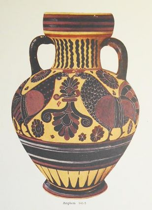 Corinthian Pottery: The American School of Classical Studies at Athens [6 color illustrations by Piet de Jong issued separately]