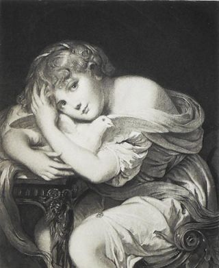 Innocence: From the Original Painting in the Gallery of Pourtales-Gorgier; by J.B. Greuze [1...