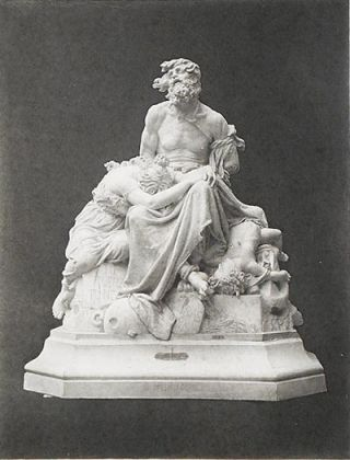 The Crimes of War: From the Original Marble Statue in the Institute des Beaux Arts; by Emile Chatrousse [1 Woodburytype print by Gravure Goupil et Cie]. Emile Chatrousse.