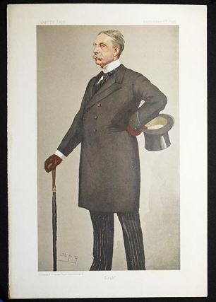 """Tirah"": General Sir William Stephen Alexander Lockhart (Men of the Day no. 725) -- Vanity Fair,..."