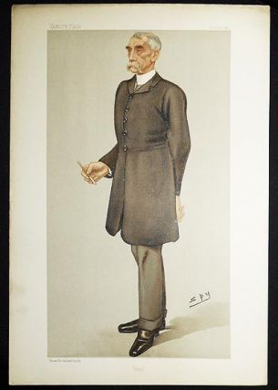 """Fred"": General Frederick Marshall (Men of the Day, no. 666) -- Vanity Fair, Dec. 24, 1896...."