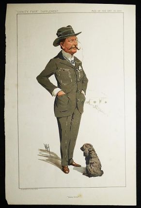 """Bisley Camp"": Lt.-Colonel Charles Robert Crosse (Men of the Day, no. 2280) -- Vanity Fair Supplement, July 10, 1912. Wallace Hester."