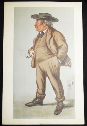 """A Rustic Judge"": Lord Justice Williams (Judges, no. 54) -- Vanity Fair, March 2, 1899. Charles..."