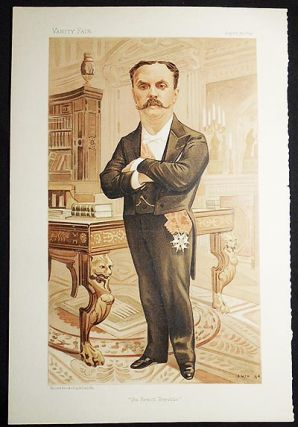 """The French Republic"": J.P.P. Casimir-Perier (Men of the Day, no. 596) -- Vanity Fair, Aug. 30,..."