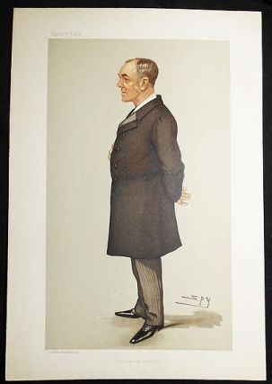 """The Imperial Institute"": Captain Sir Alfred Jephson (Men of the Day, no. 682) -- Vanity Fair,..."