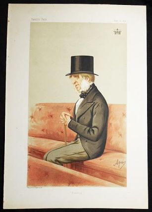 """Position"": The Duke of Devonshire (Statesmen, no. 174) -- Vanity Fair, June 6, 1874. Carlo..."