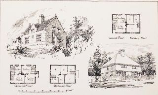 Cottages and Country Buildings designed by Thomas W. Cutler