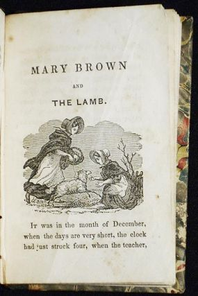 The Wonderful Lamp; Revised by the Committee of Publication of the American Sunday-school Union [bound with] Mary Brown and the Lamb