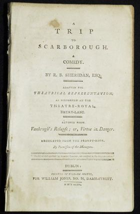 A Trip to Scarborough: A Comedy; By R.B. Sheridan, Esq.; Adapted for theatrical representation,...