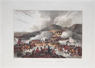 Battle of Bidassoa, Oct. 9th, 1813; W. Heath delt.; T. Sutherland sculpt.