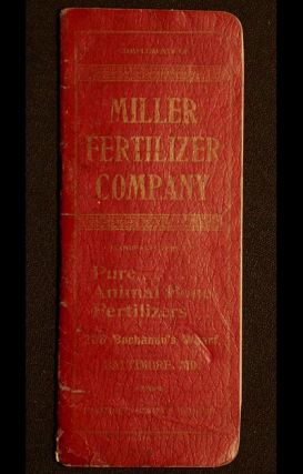 Miller Fertilizer Co. [advertising notebook