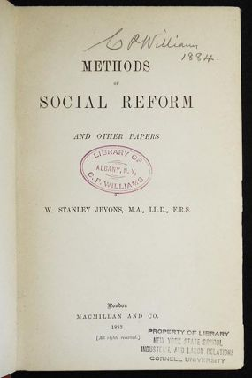 Methods of Social Reform and Other Papers