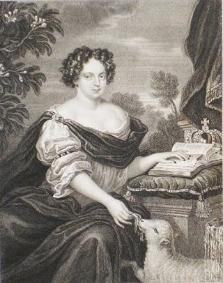 Catherine of Braganza, Queen of Charles the Second ob. 1705; From the Original of Sir Peter Lely in the Collection of His Grace the Duke of Gordon