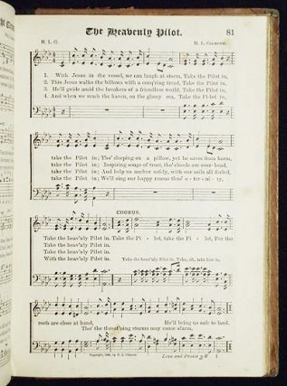 Songs of Love and Praise No. 3: For Use in Meetings for Christian Worship or Work; Editors: John R. Sweney, Wm. J. Kirkpatrick and H.L. Gilmour