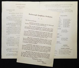 Roxborough Symphony Orchestra [program -- Feb. 6, 1943]