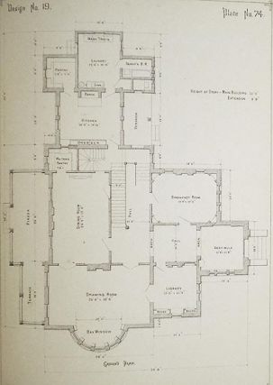 Woodward's National Architect; Containing 1000 Original Designs, Plans and Details, To Working Scale, for the Practical Construction of Dwelling Houses for the Country, Suburb and Village; With Full and Complete Sets of Specifications and an Estimate of the Cost of Each Design [102 plates]