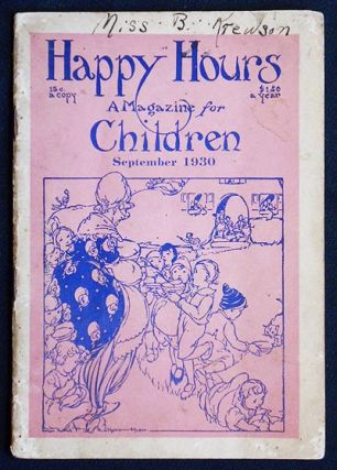 Happy Hours: A Magazine for Children -- Vol. 3 no. 11, Sept. 1930