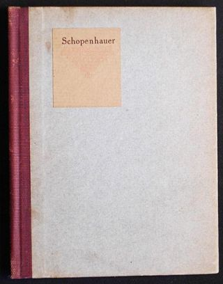 Little Journeys to the Homes of Great Philosophers: Schopenhauer; written by Elbert Hubbard. Elbert Hubbard.