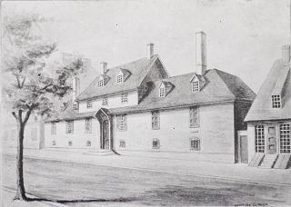 "History of the Philadelphia Almshouses and Hospitals From the Beginning of the Eighteenth to the Ending of the Nineteenth Centuries; With an Appendix containing a List of Former Visiting and Resident Physicians; Illustrated from Photographs [provenance: the Wistar Institute's ""light-fingered curator"" Thomas N. Haviland]"