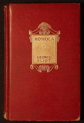 Romola by George Eliot. George Eliot