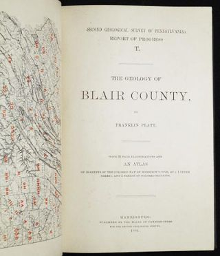 The Geology of Blair County by Franklin Platt