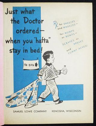 """Just What the Doctor Ordered -- When You """"Hafta"""" Stay in Bed"""