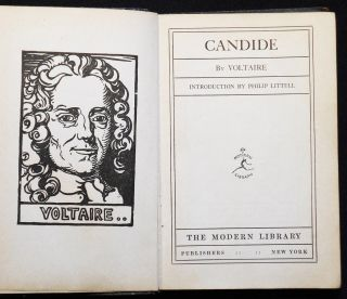 Candide by Voltaire; Introduction by Philip Littell