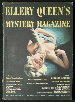 Mysterious Death in Percy Street [in Ellery Queen's Mystery Magazine vol. 13, no. 65 April 1949]. Emma Orczy, Baroness.