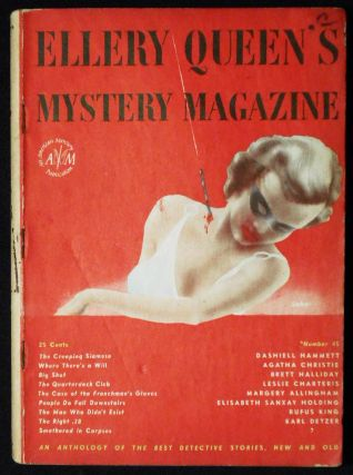 People Do Fall Downstairs [in Ellery Queen's Mystery Magazine vol. 10, no. 45 August 1947]. Elisabeth Sanxay Holding.