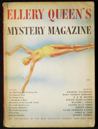 The Viotti Stradivarius [in Ellery Queen's Mystery Magazine vol. 16, no. 81 August 1950]. Lillian...