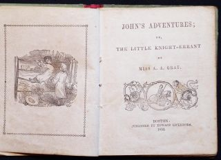 John's Adventures; or, The Little Knight-Errant by Miss A. A. Gray