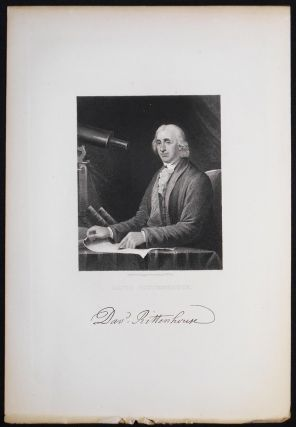 David Rittenhouse; Engraved by J.B. Longacre from a painting by C.W. Peale [engraved print]. J. B. Longacre, James Barton.