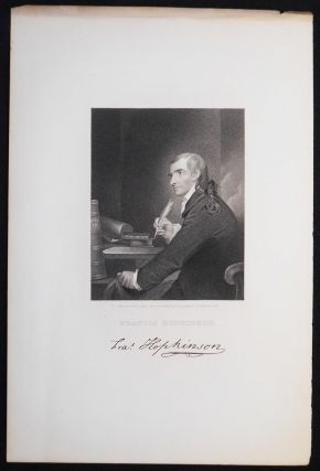 Francis Hopkinson; Engraved by J. B. Longacre from the Painting by Pine in possession of J....