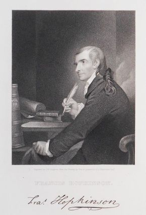 Francis Hopkinson; Engraved by J. B. Longacre from the Painting by Pine in possession of J. Hopkinson Esqr. [engraved print]