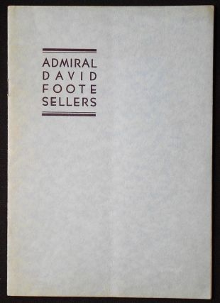 Admiral David Foote Sellers: Commander-in-Chief, U.S. Fleet, 1934