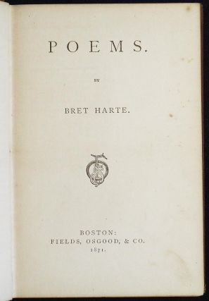 Poems by Bret Harte