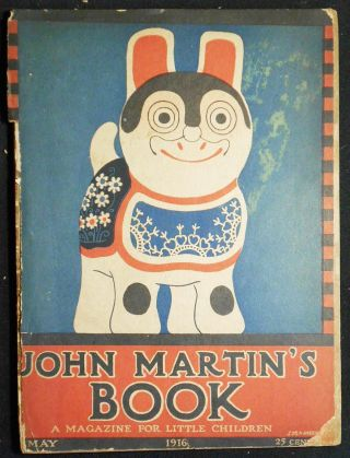 John Martin's Book: A Magazine for Little Children et Omnibus Doggybus and All Dogs May 1916,...