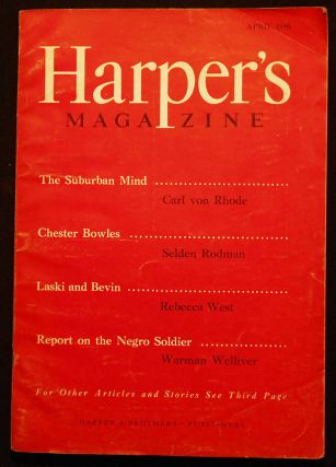 Harper's Magazine -- April 1946 -- vol. 192, no. 1151