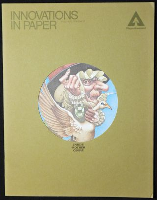 Innovations in Paper, vol. 5 no. 3 [Mother Goose]. Charles Santore