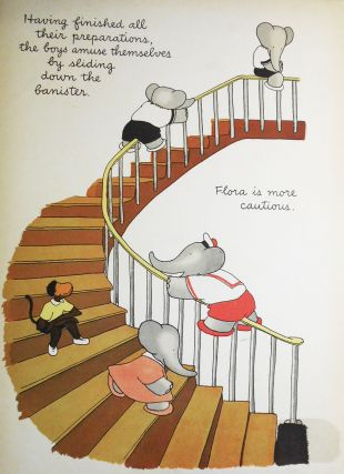 Babar's Picnic; Laurent de Brunhoff; Translated from the French by Merle Haas