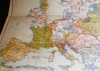 Europe at the Time of Charles V 1519-1556 (Denoyer-Geppert New Social Science Map H9) by Samuel B. Harding; compiled and drawn by R. Baxter Blair