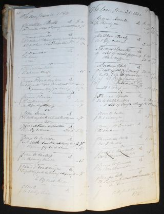 The Regular Book of Entries Belonging to David Smith Darmon [business ledger]