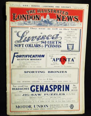 The Illustrated London News, April 15, 1933 -- no. 4904, vol. 182 [Jews and the rise of Hitler]....
