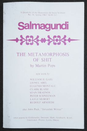 Salmagundi: A Quarterly of the Humanities & Social Sciences -- No. 56, Spring 1982