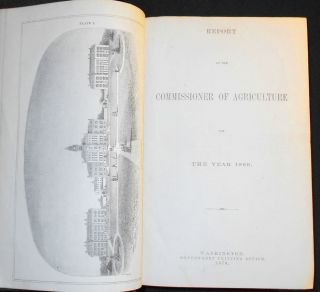 Report of the Commissioner of Agriculture for the Year 1869