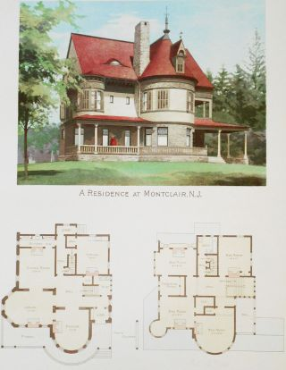 Scientific American: Architects and Builders Edition -- No. 83, Sept. 1892 [with 2 color plates]